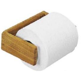 PLASTIMO Support papier toilette teck