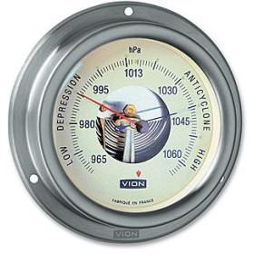VION A100 Baromètre inox brossé