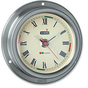 VION A100 Pendule inox brossé