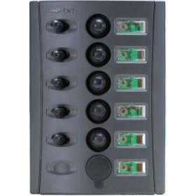 OSCULATI Tableau 5 disjoncteurs + USB