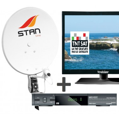 KIT HD TV+Démo TNTSAT+ Antenne sat