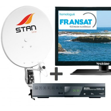 KIT HD TV+Démo FRANSAT+Antenne