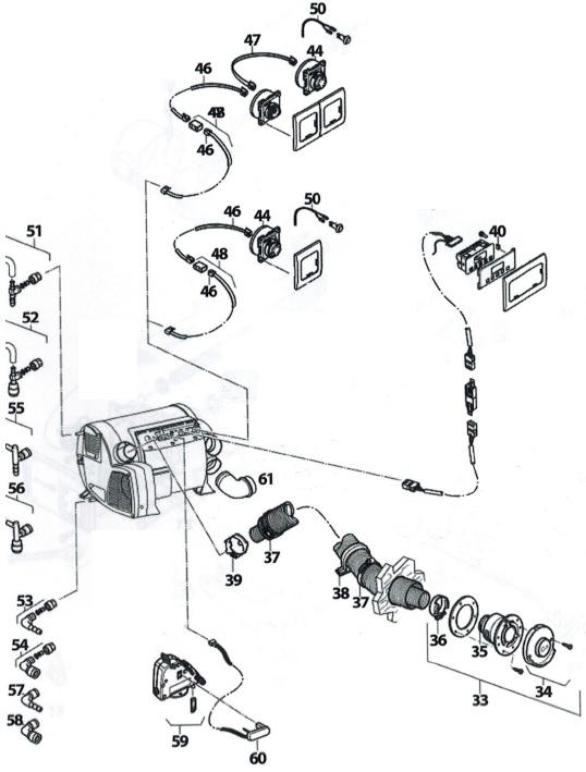 pi ce d tach e pour chauffe eau chauffage truma comi 4 6. Black Bedroom Furniture Sets. Home Design Ideas