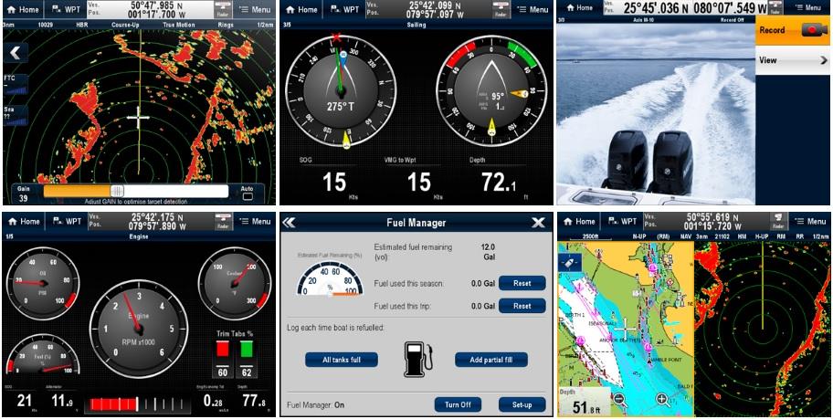 Connecter vos accessoires RAYMARINE pour tout contrôler depuis l'écran multifonction GPS A75